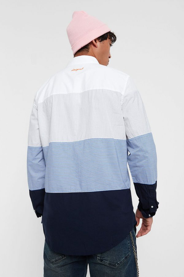 Shirt with stripes